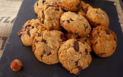 NOBLE CHOCOLATE CHIP COOKIES WITH MALDON SALT