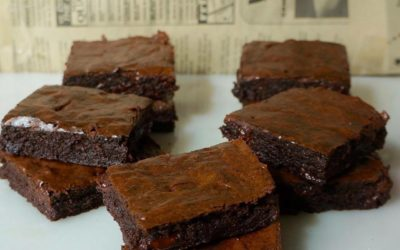 CHEWY HEALTHY BROWNIES – BETTER THAN BOXED BROWNIES